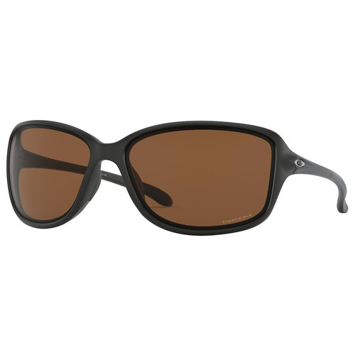 Oakley Oakley Cohort Matte Black Prizm Tungsten Polarized Sunglasses