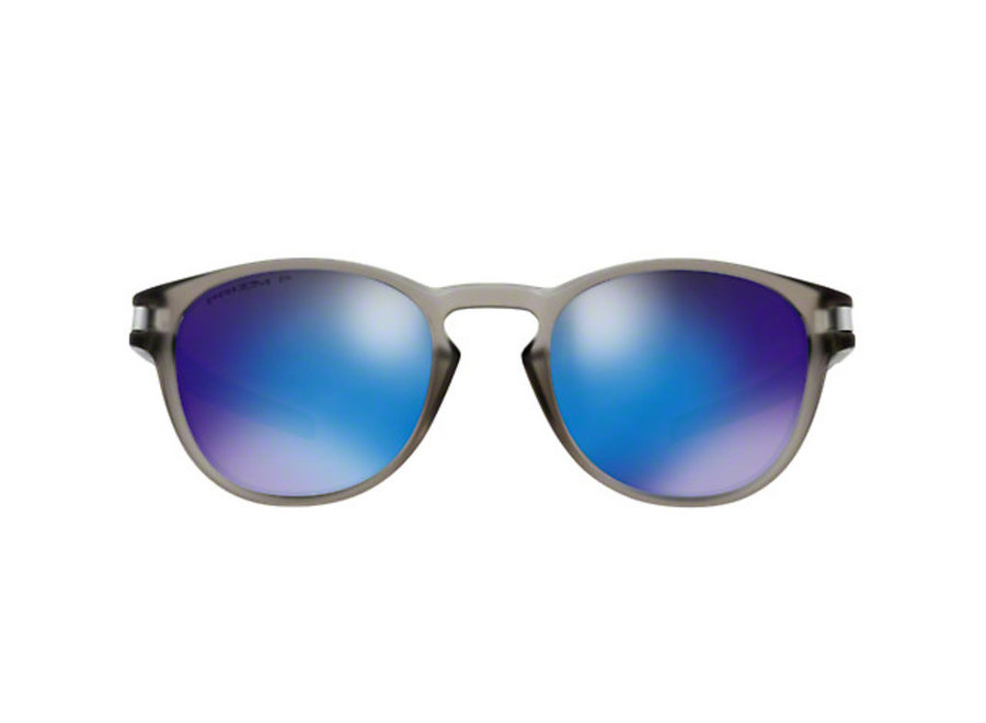 Oakley Latch Matte Grey Ink Prizm Sapphire Polarized Zonnebril
