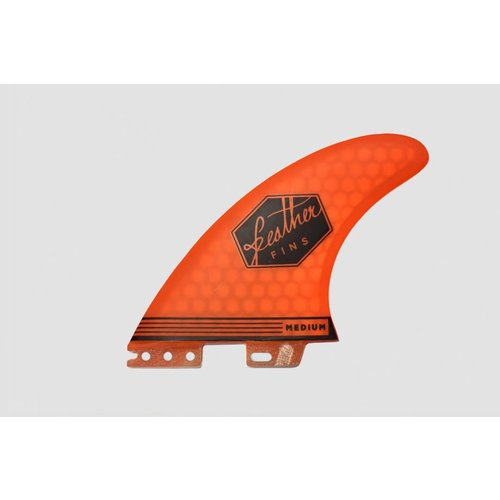 Feather Fins Feather Fins FCS II Ultralight Thruster Fins Orange