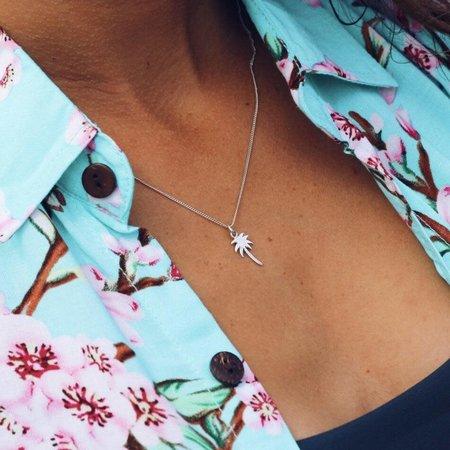 At Aloha At Aloha Palmtree Necklace