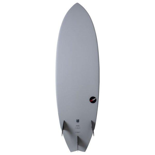 NSP Protech Fish 6'8'' Grey