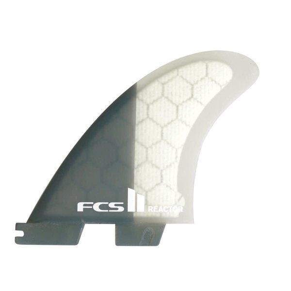 FCS II Reactor PC Quad Rear Fins Charcoal