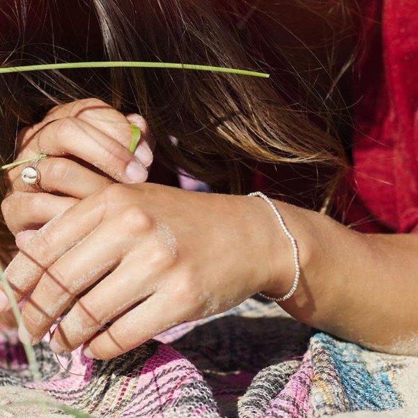 At Aloha Silver Sun Bracelet