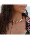 At Aloha Hilo Necklace Black