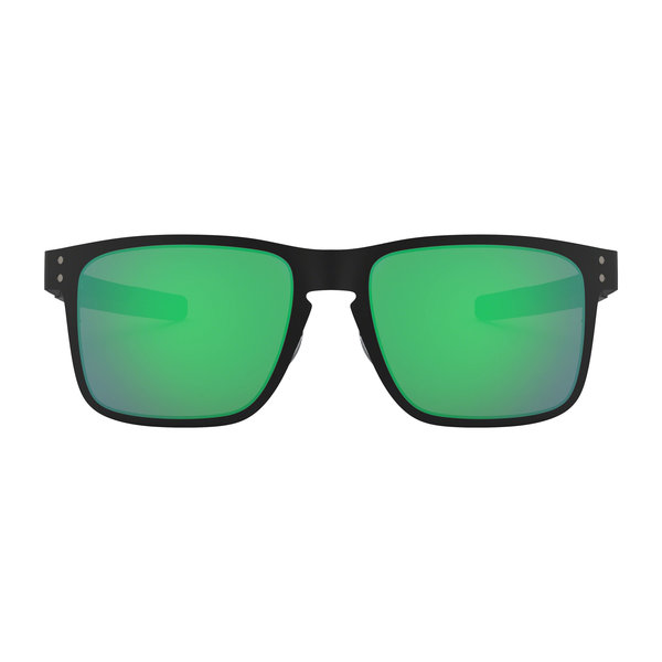 Oakley Holbrook Metal Matte Black With Jade Iridium Sunglasses