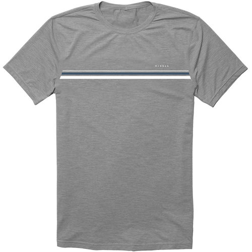 Vissla Vissla Men's The Trip Lycra Short Sleeve Grey Heather