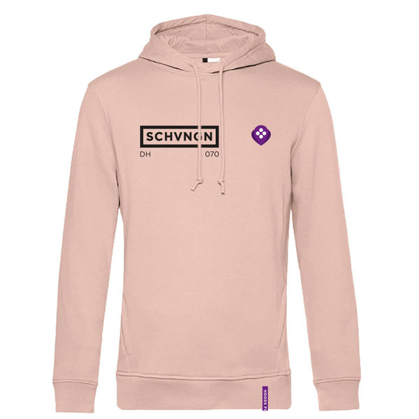 Hoods for Hoods Scheveningen Hoodie Lifestyle Pink