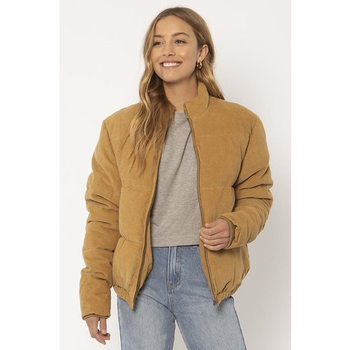 Sisstrevolution Sisstrevolution Dames Bells Jacket Tan