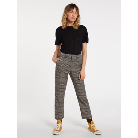 Volcom Volcom Women's Frochickie Highrise Chino Pant Vintage Gold