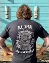 Aloha Heren Tiki T-Shirt