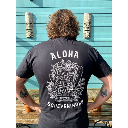Aloha Surf Huismerk Aloha Heren Tiki T-Shirt
