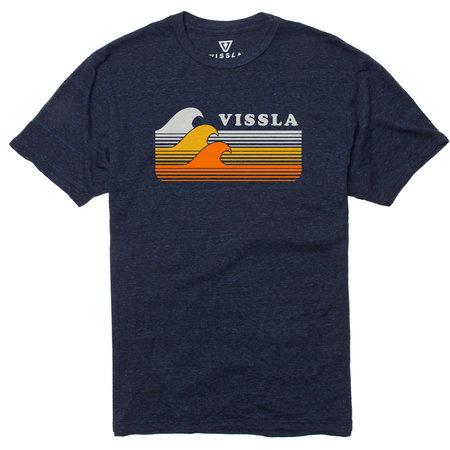 Vissla Vissla Heren Reprise Tee Midnight