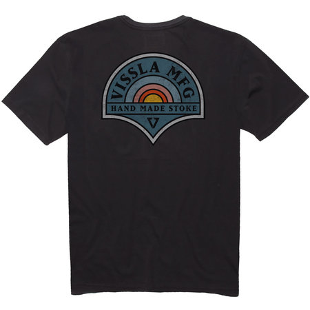 Vissla Vissla Men's Rainbow Union PKT Tee Phantom