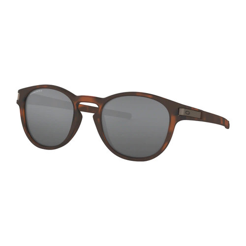 Oakley Oakley Latch Matte Brown Tortoise Prizm Black Zonnebril