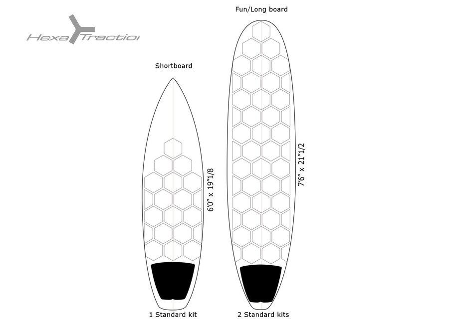 RSPro HexaTraction Board Grip Black