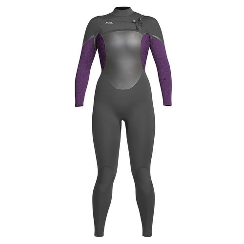Xcel Xcel AXIS X X2 5/4 Women's Wetsuit Graph/Mulberry