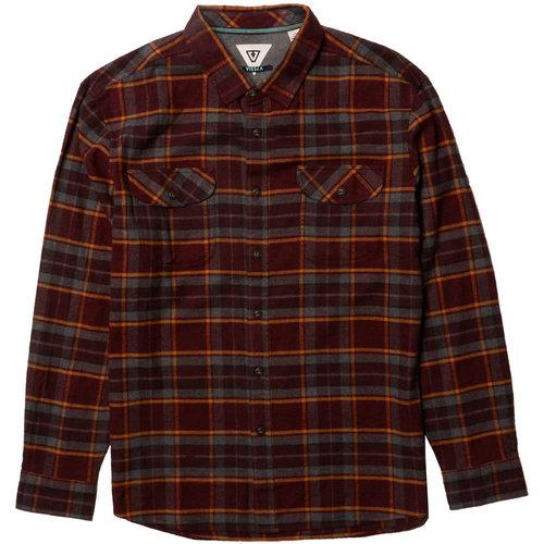 Vissla Vissla Men's Central Coast LS Flannel Blood
