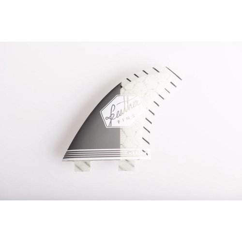 Feather Fins Feather Fins FCS Superlight Thruster Fins Grey