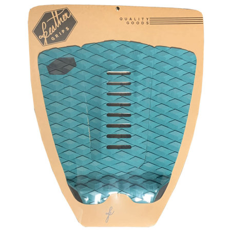 Feather Fins Feather Fins Tailpad Navy Green