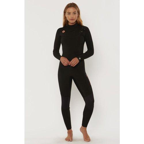 Sisstrevolution Sisstrevolution 7 Seas 3/2 Women's Wetsuit Black