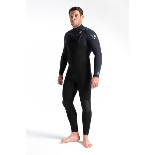 C-Skins C-Skins Rewired 5/4 Men's Wetsuit Black/BlackX/UltraCyan
