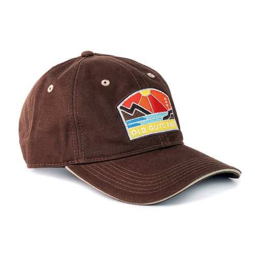 Old Guys Rule Old Guys Rule Explore Outdoors Cap Chocolate
