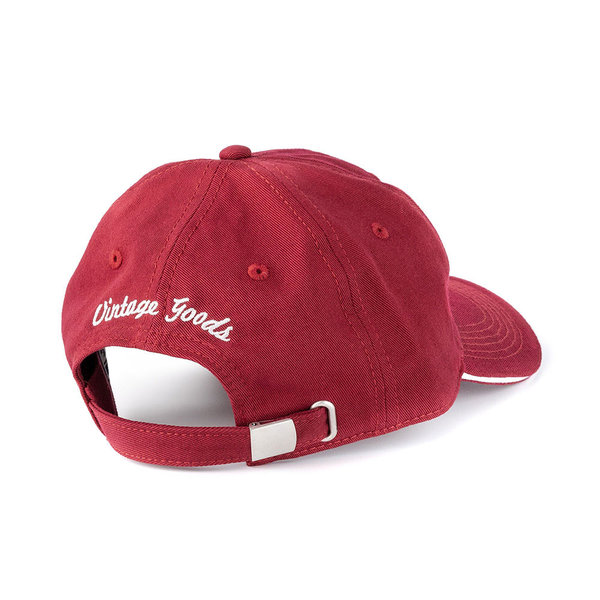 Old Guys Rule Stacked Logo Cap Cardinal Red