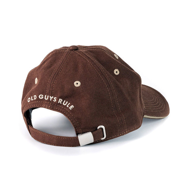 Old Guys Rule Explore Outdoors Cap Chocolate