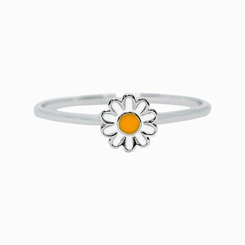 Pura Vida Bracelets Pura Vida Daisy Ring Silver
