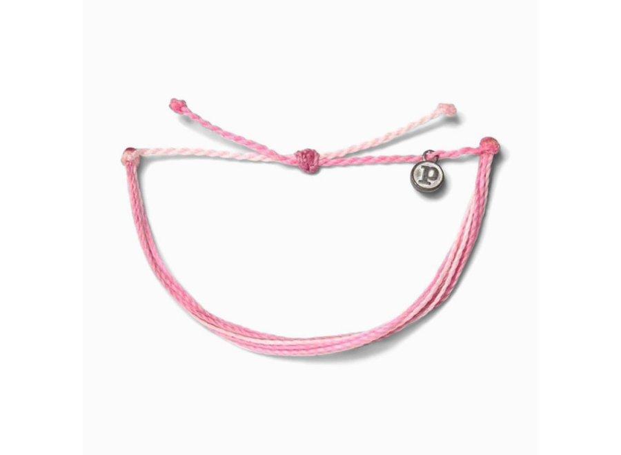 Pura Vida  Charity: Boarding 4 Breast Cancer Bracelet