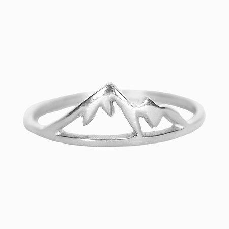 Pura Vida Bracelets Pura Vida Sierra Ring Silver