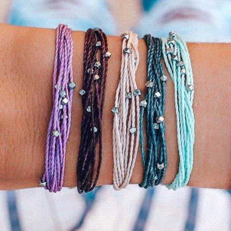 Pura Vida Bracelets Pura Vida Malibu Bracelet Silver
