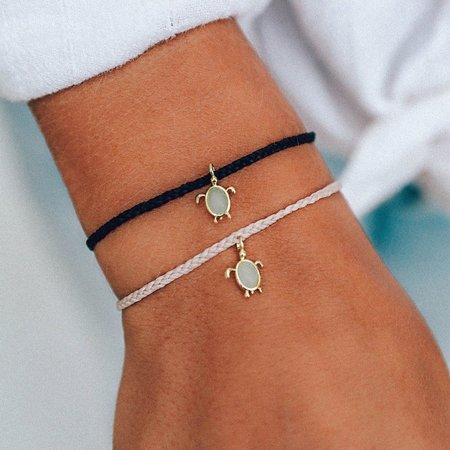 Pura Vida Sea Turtle Bracelet Gold