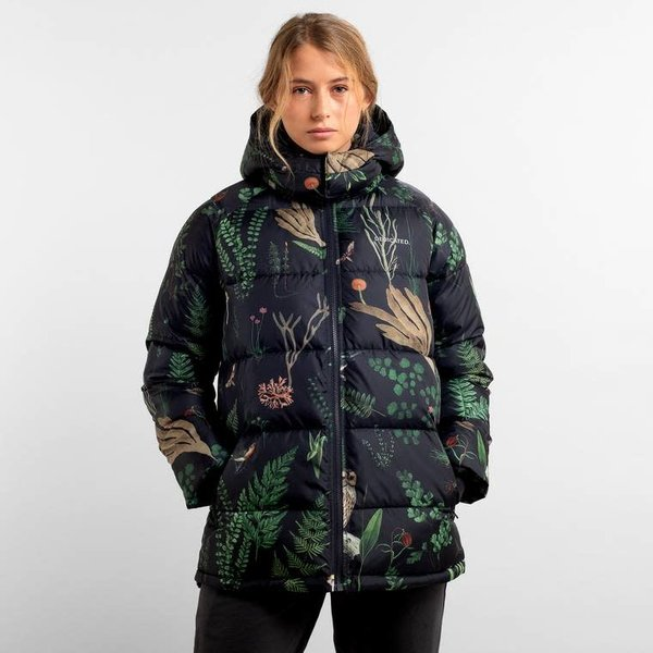 Dedicated Dames Puffer Jacket Boden Secret Garden