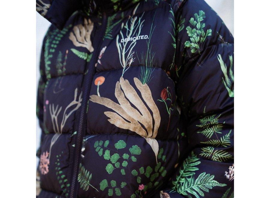 Dedicated Dames Puffer Jacket Boden Secret Garden