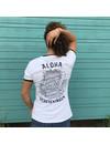 Aloha Dames Tiki T-Shirt Wit