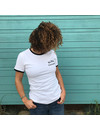 Aloha Women's Tiki T-Shirt White