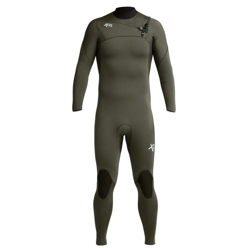 Xcel 4/3 Comp Wetsuit Forest Green