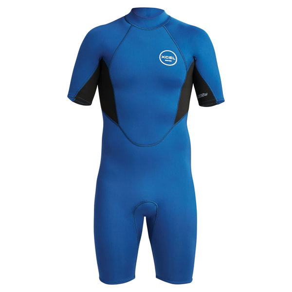 XCEL 2mm Axis Shorty Wetsuit Blue