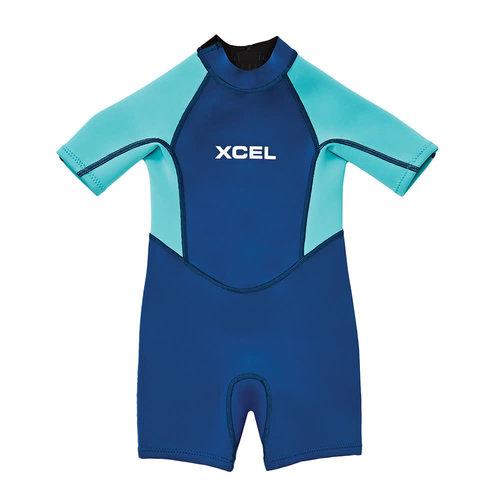 Xcel 1mm Toddler Shorty Blue Pistachio