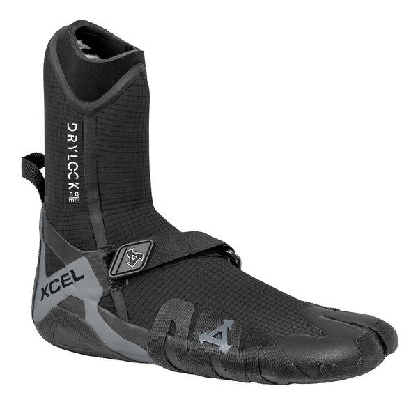 XCEL 5mm Drylock Split Toe Boot Black