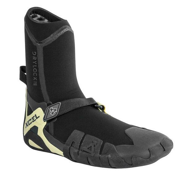 XCEL 3mm Drylock Split Toe Boots Black Gum