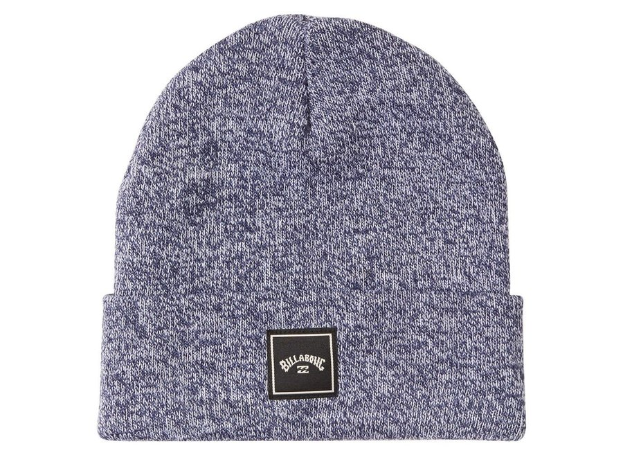 Billabong Stacked Beanie Heather Navy