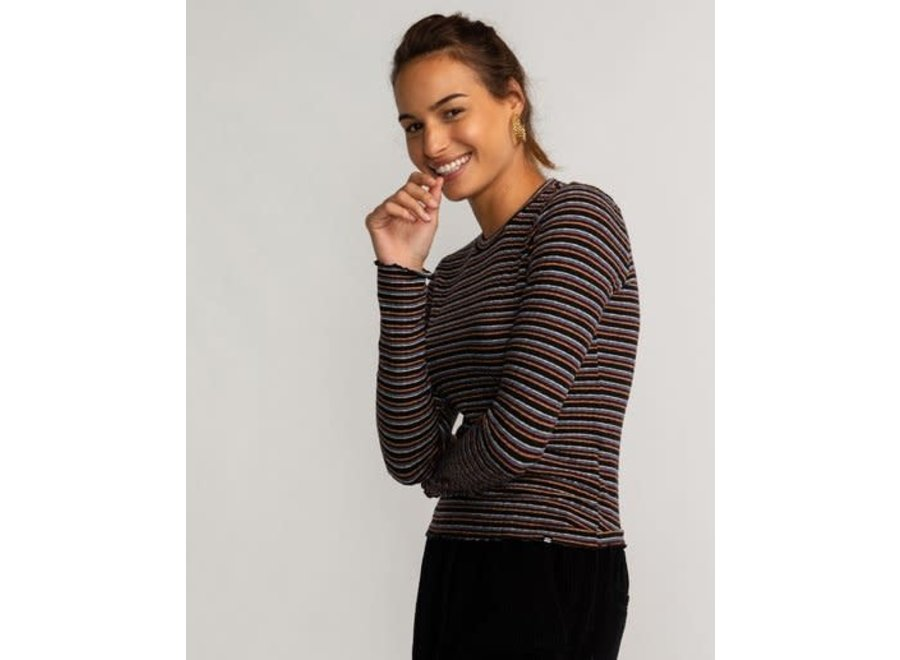 Billabong Dames Seventies Stripes Top Multi