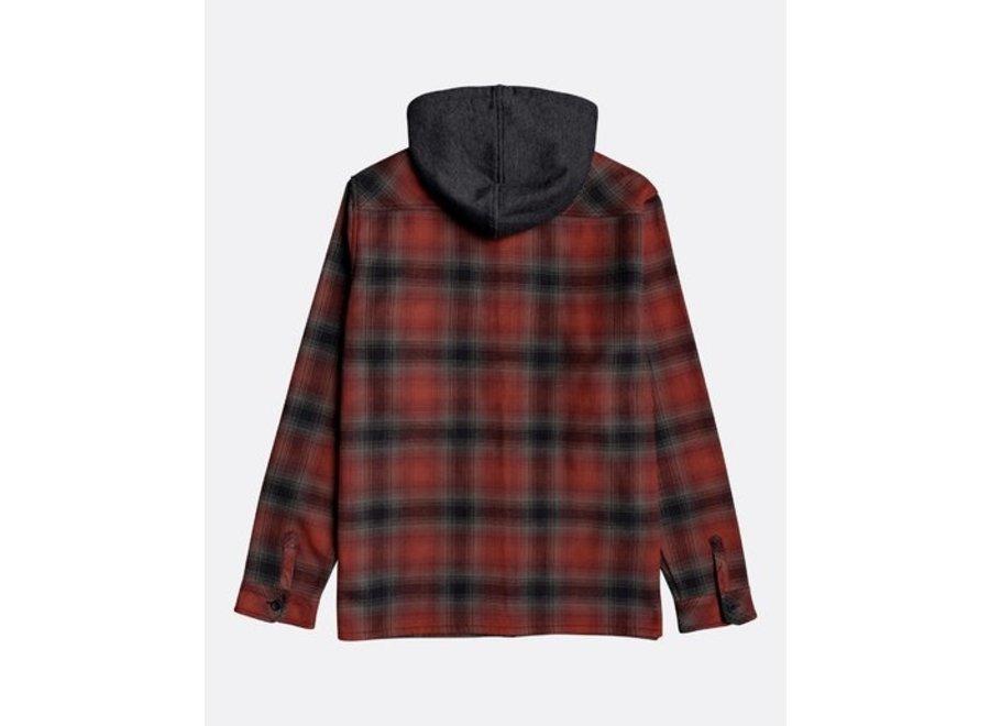 Billabong Heren Furnace Bonded Shirt Red