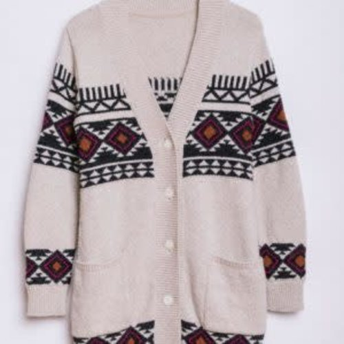 Vissla Vissla Dames Imala Upcycled Sweater Sand