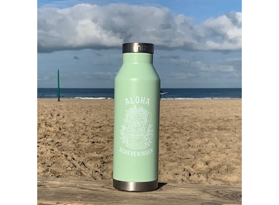Aloha Mizu Thermos Bottle Sea Glass