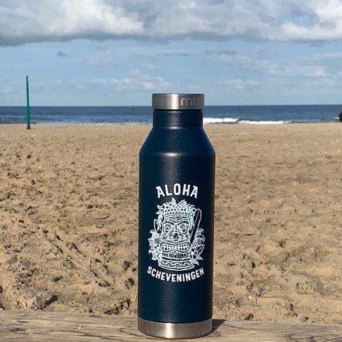 Aloha Surf Aloha Mizu Thermos Bottle Midnight