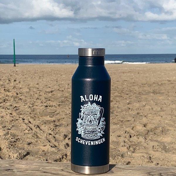 Aloha Mizu Thermos Bottle Midnight