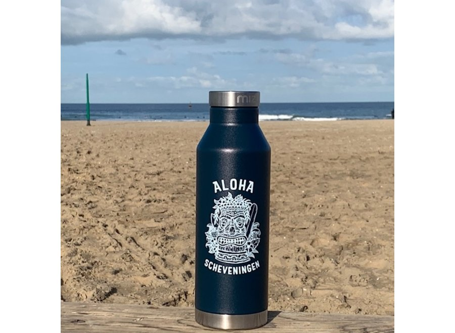 Aloha Mizu Thermos Bottle Midnight